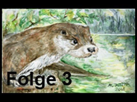 Tiere malen mit dem Mund (Folge 3)