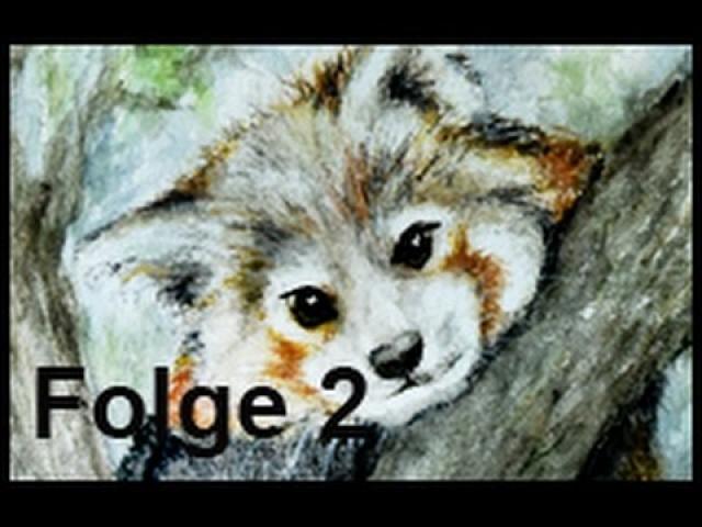 Tiere malen mit dem Mund (Folge 2)