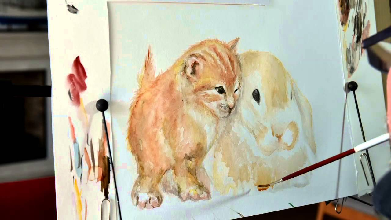Tiere malen mit dem Mund (Folge 1) Markus Kostka